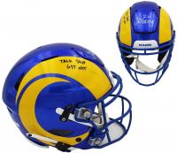 "Jalen Ramsey Signed Rams Full-Size SpeedFlex Helmet Inscribed ""Talk S*** Get Hit"" (Radtke COA) at PristineAuction.com"