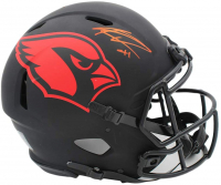 Kenyan Drake Signed Cardinals Full-Size Authentic On-Field Alternate Eclipse Speed Helmet (Radtke COA) at PristineAuction.com