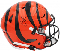 Chad Johnson Signed Bengals Full-Size Authentic On-Field Speed Flex Helmet (Radtke COA) at PristineAuction.com