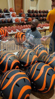 Chad Johnson Signed Bengals Full-Size Authentic On-Field SpeedFlex Helmet (Radtke COA) at PristineAuction.com