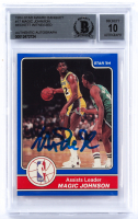 Magic Johnson Signed 1984 Star Award Banquet #17 LL (BGS Encapsulated) at PristineAuction.com