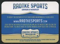 """Brett Favre Signed Vikings Full-Size Authentic On-Field SpeedFlex Helmet Inscribed """"HOF 16"""" (Radtke COA) at PristineAuction.com"""