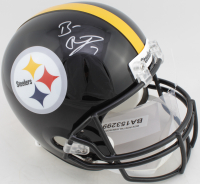 Ben Roethlisberger Signed Steelers Full-Size Helmet (Fanatics Hologram) at PristineAuction.com