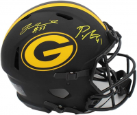 Preston Smith & Za'Darius Smith Signed Packers Authentic On-Field Full-Size Eclipse Alternate Speed Helmet (Radtke COA) at PristineAuction.com