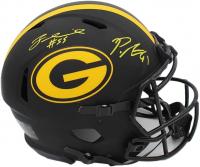 Preston Smith & Za'Darius Smith Signed Packers Authentic On-Field Full-Size Eclipse Alternate Speed Helmet (Radtke COA) at PristineAuction.com