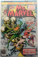 """Stan Lee Signed 1977 """"Ms. Marvel"""" Issue #2 Marvel Comic Book (Lee COA) at PristineAuction.com"""