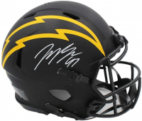 Joey Bosa Signed Chargers Authentic On-Field Full-Size Alternate Eclipse Speed Helmet (Beckett COA) at PristineAuction.com