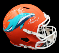 Tua Tagovailoa Signed Dolphins Full-Size AMP Alternate Speed Helmet (Fanatics Hologram) at PristineAuction.com