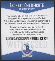 Christian McCaffrey Signed Jersey (Beckett COA) at PristineAuction.com