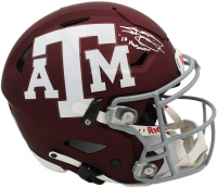 "Johnny Manziel Signed Texas A&M Aggies Authentic On-Field Full-Size Speed Flex Helmet Inscribed ""12 Heisman"" (Radtke COA) at PristineAuction.com"