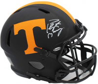 Peyton Manning Signed Tennessee Volunteers Authentic On-Field Eclipse Alternate Full-Size Speed Helmet (Fanatics Hologram) at PristineAuction.com