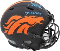 "Terrell Davis Signed Broncos Full-Size Authentic On-Field Alternate Eclipse Speed Helmet Inscribed ""SB XXXII MVP"" (Radtke COA & Terrell Davis Hologram) at PristineAuction.com"