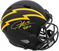 "LaDainian Tomlinson Signed Chargers Full-Size Eclipse Alternate Speed Helmet Inscribed ""HOF 17"" (Beckett COA) at PristineAuction.com"