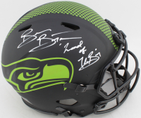 "Brian Bosworth Signed Seahawks Full-Size Authentic On-Field Eclipse Alternate Speed Helmet Inscribed ""Legend of the Boz"" (Beckett COA) at PristineAuction.com"