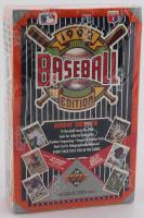 1992 Upper Deck Hi # Baseball Hobby Box of (36) Packs at PristineAuction.com