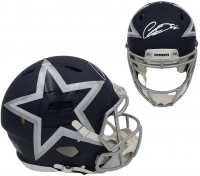 CeeDee Lamb Signed Cowboys Full-Size Authentic On-Field AMP Alternate Speed Helmet (Fanatics Hologram) at PristineAuction.com