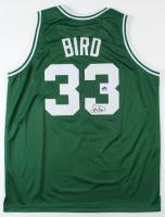 Larry Bird Signed Jersey (JSA COA & Bird Hologram) at PristineAuction.com