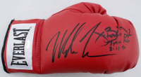 "Mike Tyson & James ""Buster"" Douglas Signed Everlast Boxing Glove Inscribed ""Tyson KO"" & ""2-11-90"" (Schwartz COA) at PristineAuction.com"