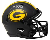 Davante Adams Signed Packers Eclipse Alternate Speed Full-Size Helmet (JSA COA) at PristineAuction.com
