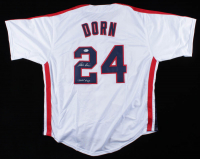 "Corbin Bernsen Signed ""Major League"" Jersey Inscribed ""Dorn #24"" (Beckett COA) at PristineAuction.com"