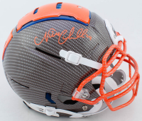 Nick Chubb Signed Full-Size Authentic On-Field Hydro-Dipped F7 Helmet (JSA COA) at PristineAuction.com