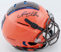 Nick Chubb Signed Full-Size Authentic On-Field Hydro-Dipped F7 Helmet (Beckett COA) at PristineAuction.com