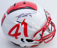 Kenyan Drake Signed Full-Size Authentic On-Field Hydro-Dipped F7 Helmet (Beckett COA) at PristineAuction.com
