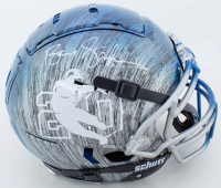 Barry Sanders Signed Full-Size Authentic On-Field Hydro-Dipped F7 Helmet (Schwartz Sports Hologram) at PristineAuction.com