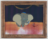 "Walt Disney's LE ""Dumbo"" 13.5x16.5 Custom Framed Animation Serigraph Display at PristineAuction.com"