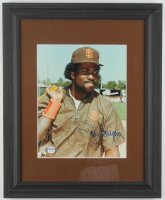 Tony Gwynn Signed Padres 13.5x16.5 Custom Framed Photo Display (PSA COA) at PristineAuction.com