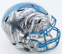 Amari Cooper Signed Cowboys Full-Size Authentic On-Field Hydro-Dipped SpeedFlex Helmet (JSA COA) at PristineAuction.com