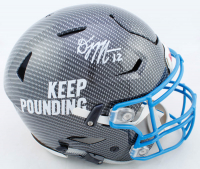D.J. Moore Signed Panthers Full-Size Authentic On-Field Hydro-Dipped SpeedFlex Helmet (JSA COA) at PristineAuction.com