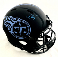 A.J. Brown Signed Titans Full-Size Eclipse Alternate Speed Helmet (Beckett COA) at PristineAuction.com