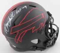 "Bruce Smith Signed Bills Full-Size Eclipse Alternate Speed Helmet Inscribed ""HOF '09"" (JSA COA) at PristineAuction.com"