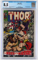 "1968 ""The Mighty Thor"" Issue #152 Marvel Comic Book (CGC 8.5) at PristineAuction.com"