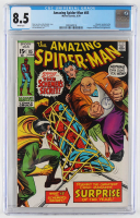 "1970 ""The Amazing Spider-Man"" Issue #85 Marvel Comic Book (CGC 8.5) at PristineAuction.com"