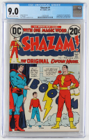 "1973 ""Shazam"" Issue #1 Marvel Comic Book (CGC 9.0) at PristineAuction.com"