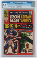 "1965 ""Tales of Suspense"" Issue #63 Marvel Comic Book (CGC 7.5) at PristineAuction.com"