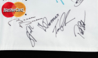 Arnold Palmer Invitational Flag Signed by (30) with Zach Johnson, Charl Schwartzel, Jim Furyk, Ernie Els (Beckett LOA) at PristineAuction.com