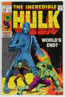 """Vintage 1969 """"The Incredible Hulk"""" Vol. 1 Issue #117 Marvel Comic Book at PristineAuction.com"""