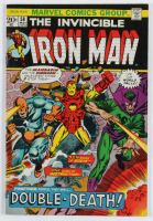 "Vintage 1973 ""Iron Man"" Vol. 1 Issue #58 Marvel Comic Book at PristineAuction.com"