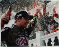 Jeff Gordon Signed NASCAR 11x14 Photo (PSA Hologram) at PristineAuction.com