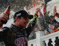 Jeff Gordon Signed NASCAR 11x14 Photo (PSA Hologram) at PristineAuction.com