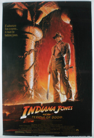 """""""Indiana Jones and the Temple of Doom"""" 28x40 Poster at PristineAuction.com"""