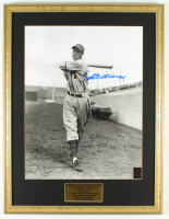 Ted Williams Signed Red Sox 20x26 Custom Framed Photo Display (Ted Williams COA) at PristineAuction.com