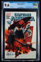 "2005 ""Captain America"" Issue #6 Marvel Comic Book (CGC 9.6) at PristineAuction.com"