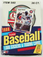 1988 Fleer Baseball Wax Box with (36) Packs at PristineAuction.com