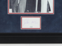 John McCain Signed 16x19 Custom Framed Cut Display (JSA COA) at PristineAuction.com