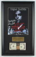 "Henry Hill Signed 13x21 Custom Framed Photo Display Inscribed ""Goodfella"" with Replica Prop Money (PSA COA) at PristineAuction.com"