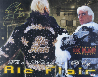 "Ric Flair Signed WWE 16x20 Photo Inscribed ""16x"" (PSA COA) at PristineAuction.com"